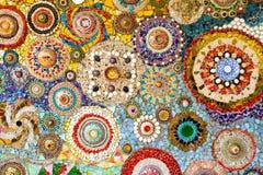 Kleurrijke achtergrond van kleurrijke rotsen Stock Afbeelding