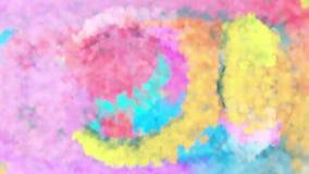 Kleurrijke achtergrond van verschillende kleuren royalty-vrije illustratie