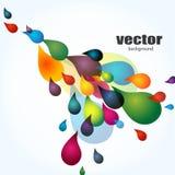 Kleurrijke achtergrond, vector royalty-vrije illustratie