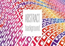 Kleurrijke achtergrond Vector abstract minimalistic ontwerp vector illustratie