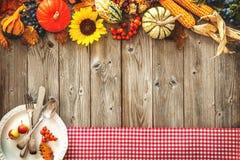 Kleurrijke achtergrond voor Halloween en Dankzegging Stock Afbeelding