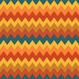 Kleurrijke achtergrond voor lapwerk met zigzag en steken vector illustratie