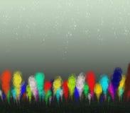 Kleurrijke achtergrond voor uw ontwerp Stock Fotografie