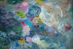 Kleurrijke achtergrond watercolor Royalty-vrije Stock Foto's