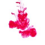 Kleurrijke Acrylinkt in Water Royalty-vrije Stock Fotografie