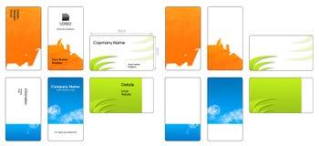 Kleurrijke adreskaartjes Stock Fotografie