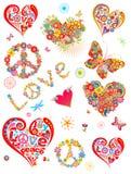 Kleurrijke af:drukken Royalty-vrije Stock Fotografie