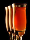 Kleurrijke alcohol Royalty-vrije Stock Fotografie