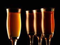 Kleurrijke alcohol Stock Foto