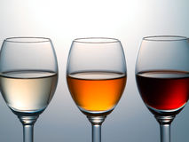 Kleurrijke alcohol Royalty-vrije Stock Afbeeldingen