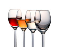 Kleurrijke alcohol Royalty-vrije Stock Foto's