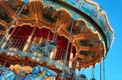 Kleurrijke & Gedetailleerde Carrousel Royalty-vrije Stock Afbeelding