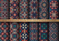 Kleurrijke Arabesque-Patronen Royalty-vrije Stock Foto