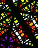 Kleurrijke Architecturale Patronen royalty-vrije stock foto