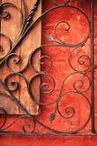 Kleurrijke architectuurdetails, Cuzco, Peru. Royalty-vrije Stock Afbeeldingen