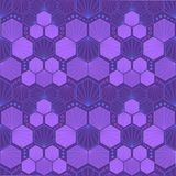Kleurrijke Art Deco-patroonreeks, naadloos vectorart. Stock Afbeelding