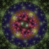 Kleurrijke bacteriën Stock Afbeeldingen