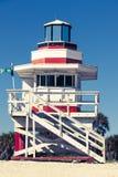 Kleurrijke badmeestertoren royalty-vrije stock foto