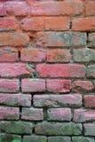 Kleurrijke Bakstenen muur Royalty-vrije Stock Foto