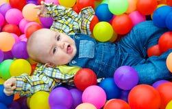 Kleurrijke ballen Stock Afbeelding