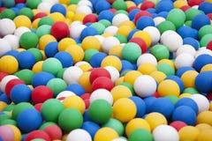 Kleurrijke ballen Royalty-vrije Stock Foto's