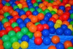 Kleurrijke ballen Stock Foto