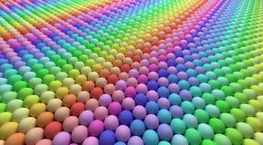 Kleurrijke ballen Stock Afbeeldingen