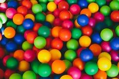 Kleurrijke ballen Stock Foto's