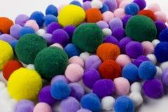 Kleurrijke ballen royalty-vrije stock afbeeldingen