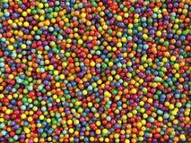 Kleurrijke ballen geplaatst achtergrond Stock Afbeeldingen