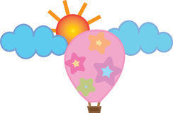 Kleurrijke ballon Royalty-vrije Stock Fotografie