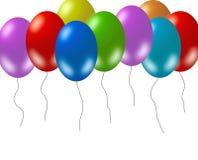 Kleurrijke ballons vector illustratie