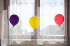Kleurrijke ballons Stock Fotografie
