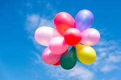 Kleurrijke Ballons Stock Foto