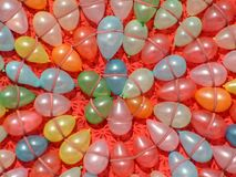 Kleurrijke Ballons stock afbeeldingen
