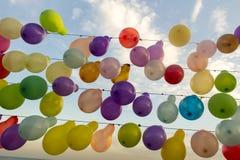 Kleurrijke Ballons Royalty-vrije Stock Fotografie