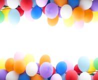 Kleurrijke ballons als achtergrond Royalty-vrije Stock Fotografie