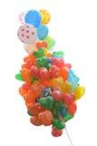 Kleurrijke ballons met witte achtergrond Royalty-vrije Stock Fotografie
