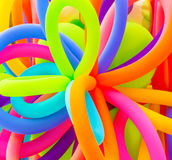 Kleurrijke ballonsachtergrond Stock Afbeelding