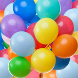 Kleurrijke ballonsachtergrond Stock Afbeeldingen