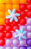 De Decoratie van ballons stock foto