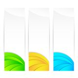 Kleurrijke Banner royalty-vrije illustratie