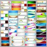 Kleurrijke banner jumboinzameling Royalty-vrije Stock Foto