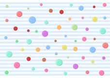Kleurrijke bel in de lucht Royalty-vrije Stock Foto's