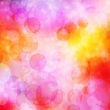 Kleurrijke bellen stock illustratie