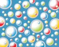 Kleurrijke bellen vector illustratie