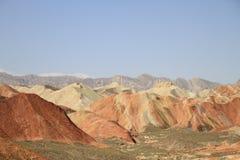 Kleurrijke berg Royalty-vrije Stock Afbeeldingen