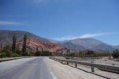 kleurrijke bergen - het Noorden van Argentinië/noa, jujuy salta, stock foto