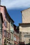 Kleurrijke blinden Stock Foto's