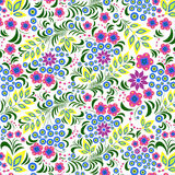 Kleurrijke bloem op witte achtergrond Royalty-vrije Stock Fotografie